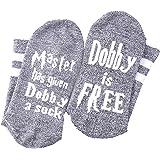 Master Has Given Dobby a Sock Dobby is Free Funny Crew socks Gift