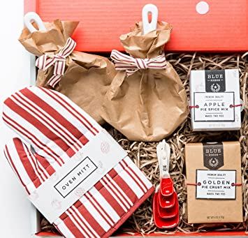 Amazon.com : Gourmet Apple Pie Baking Kit Gift Box by Thoughtfully ...