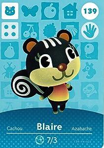 Nintendo Animal Crossing Happy Home Designer Amiibo Card Blaire 139/200 USA Version