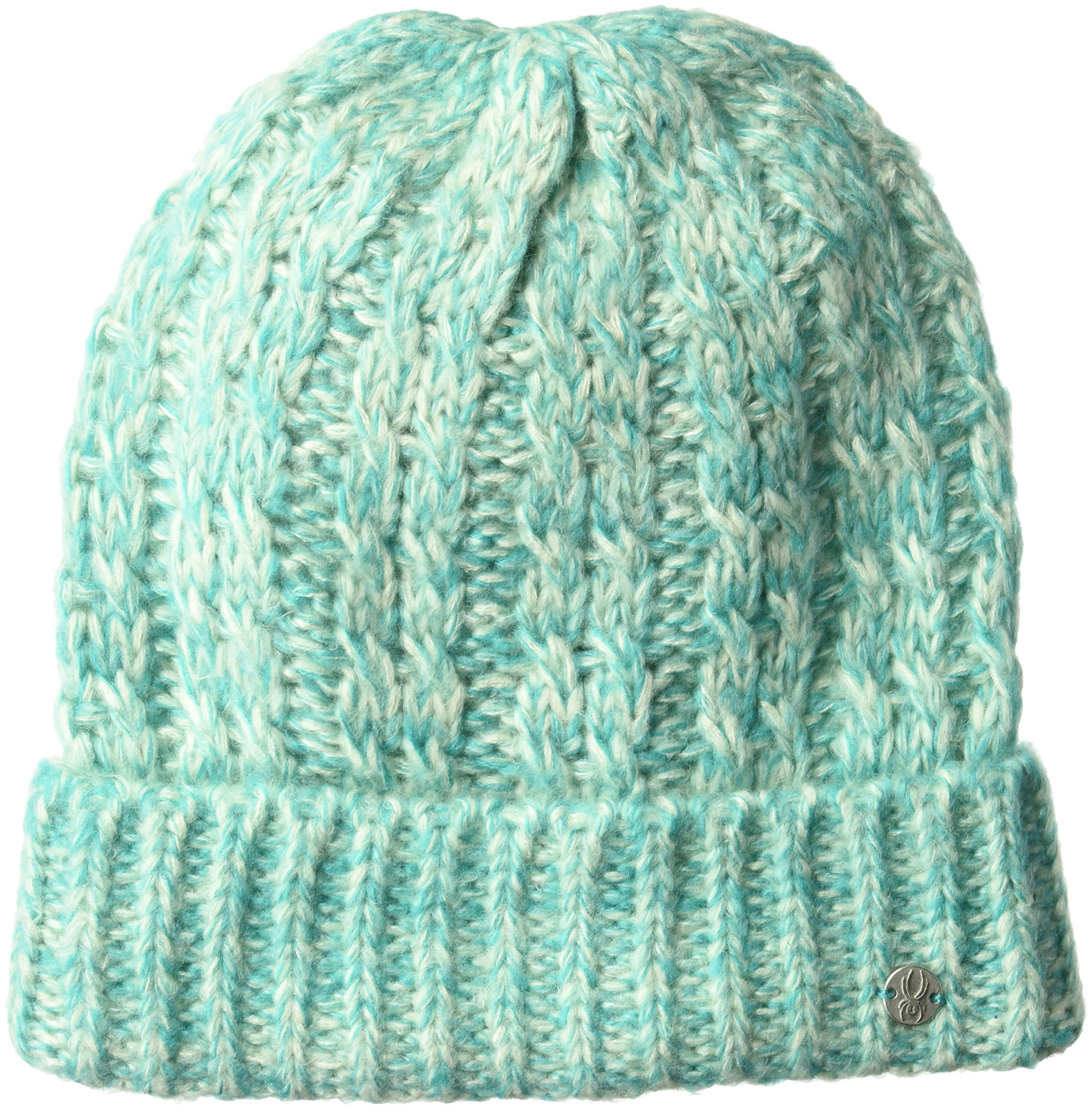 Spyder Women's Entwine Hat, Marshmallow/Baltic, One Size