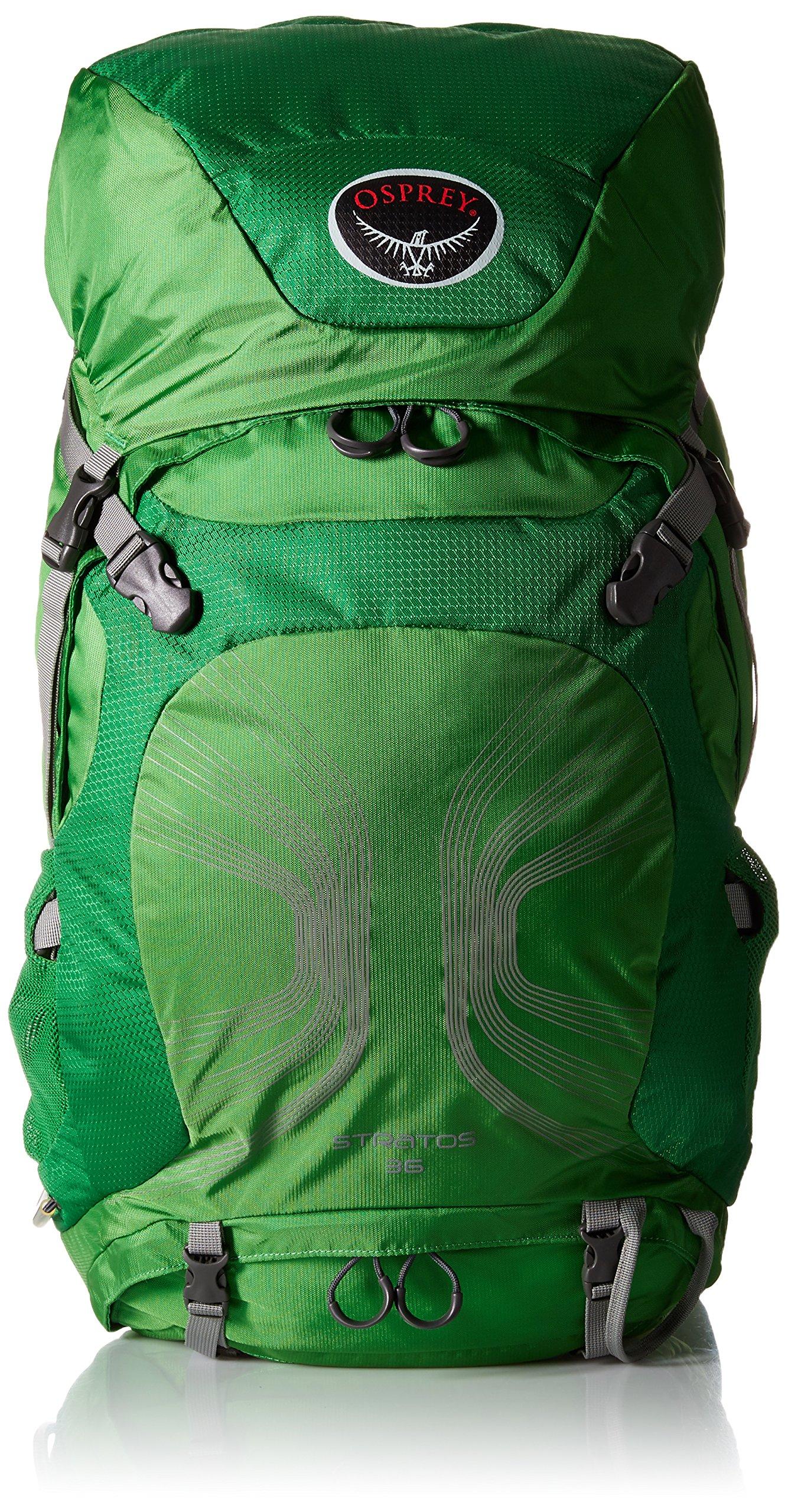 Osprey Packs Stratos 36 Backpack (2016 Model), Pine Green, Medium/Large