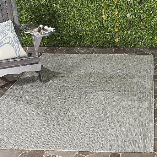 Safavieh Courtyard Collection CY8520-36811 Grey Indoor/ Outdoor Area Rug 5'3″ x 7'7″