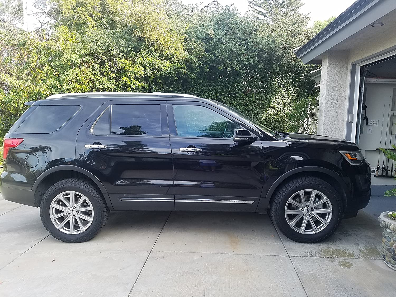 Lifted Ford Explorer >> Truxxx 102015 2 5 Lift Kit Compatible With 2011 2019 Ford Explorer All Trim Models Including Police Interceptor 2wd 4wd All Engines