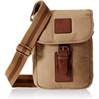 Swiss Military Canvas Beige Sling Bag (CAN-3)