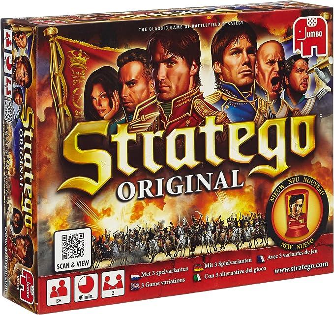 Jumbo 9495 Stratego - Juego de Mesa de Estrategia (Contenido en ...