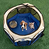 PETMAKER Pet Playpen with Carrying Case