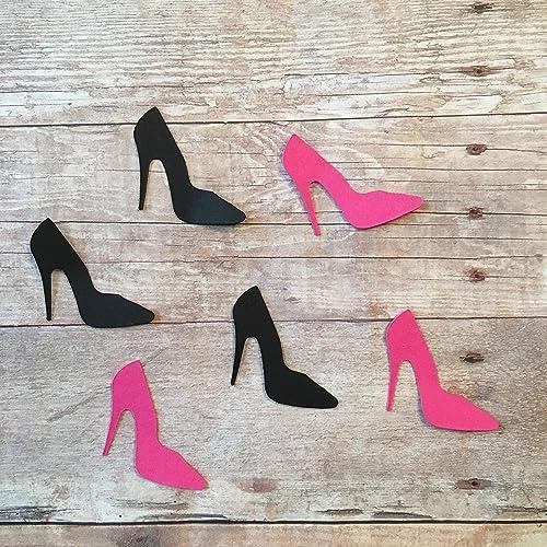 b4a494ab87e56 Amazon.com: High Heels Confetti, Shoe Decorations, Shoe Theme ...
