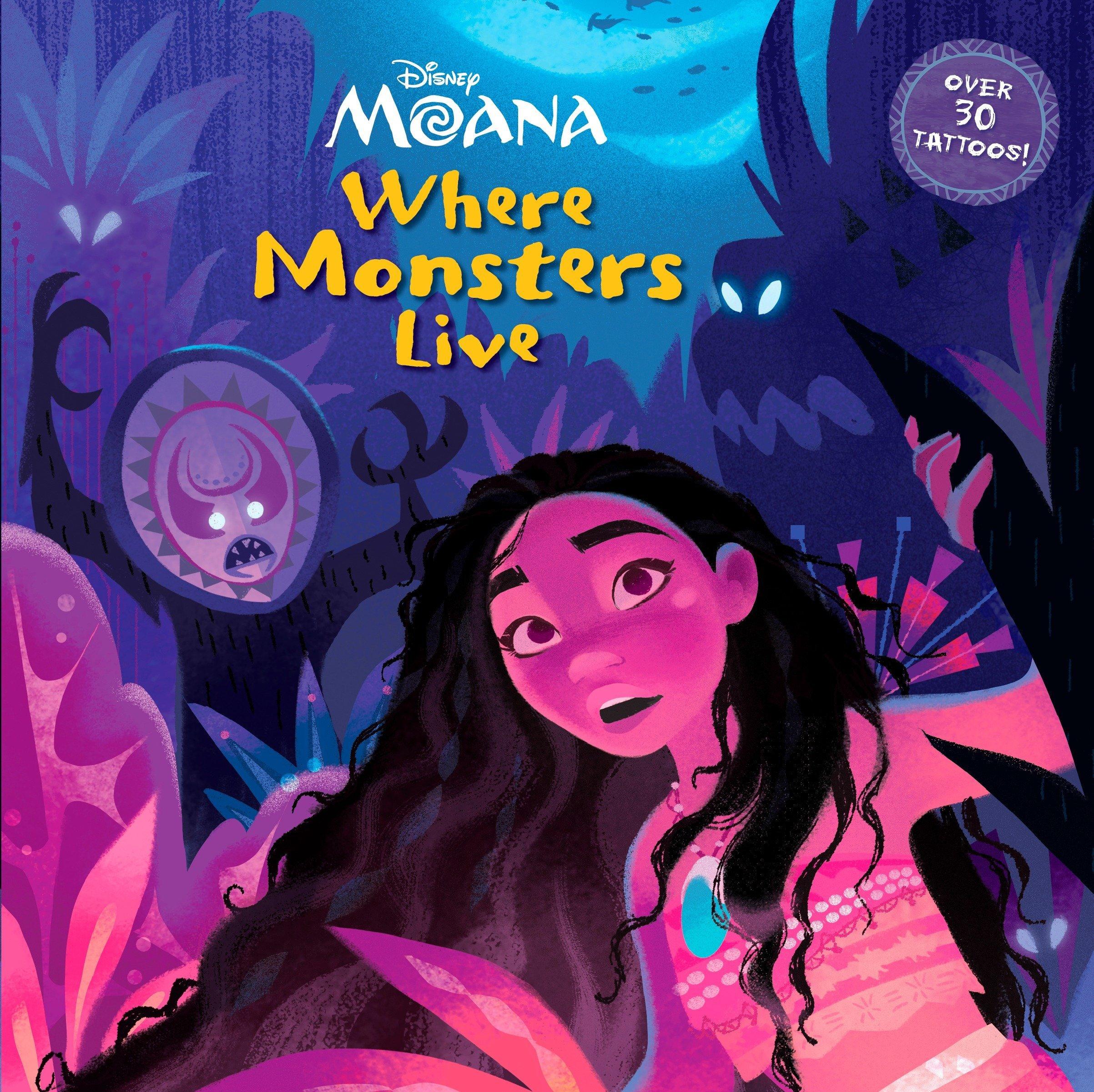 Read Online Where Monsters Live (Disney Moana) (Pictureback(R)) PDF