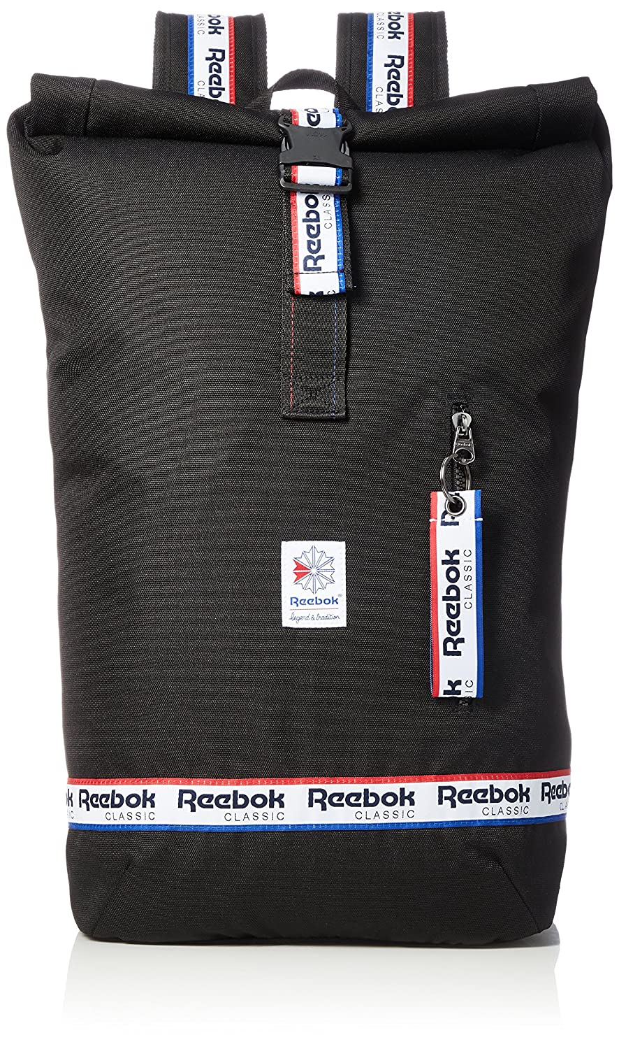 Reebok DH3565 Cl Graphic Taping BP Mochila Tipo Casual, 25 cm, 25 litros, Negro: Amazon.es: Equipaje