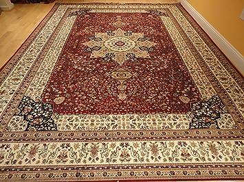 Luxury Red Silk Rugs Traditional Area Rug 2x4 Small Rugs For Bedroom Door  Mats Indoor 2x3