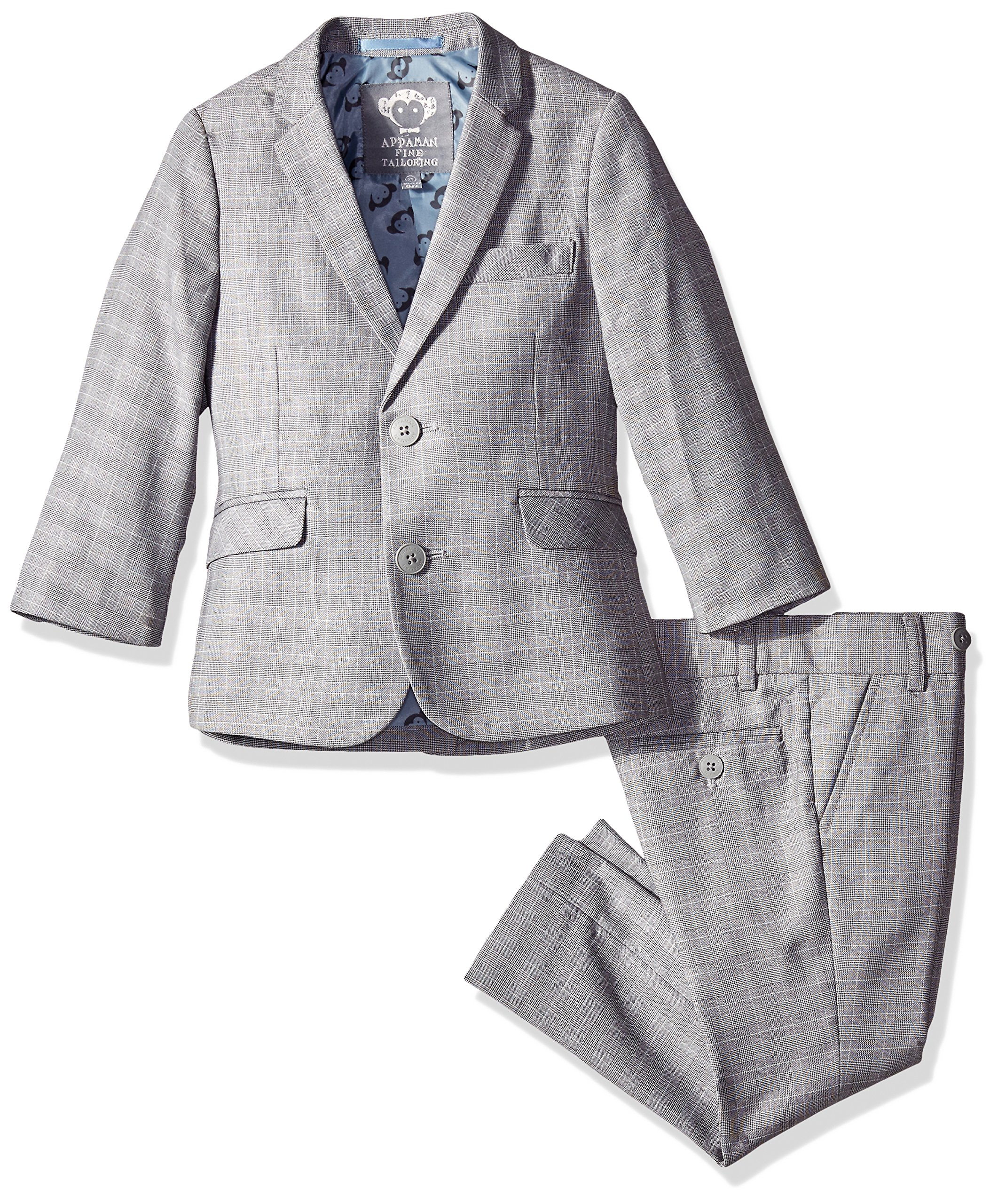 Appaman Big Boys' MOD Suit, Glen Plaid, 12
