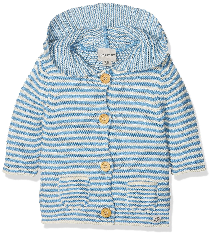 Papfar Baby-Jungen Strickjacke Kapuze Knit Wear 716764