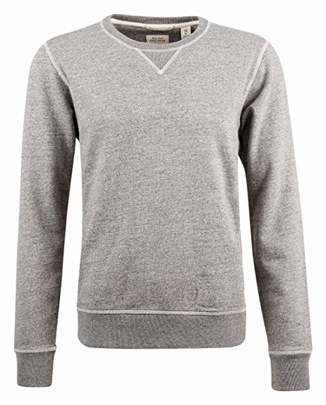 8b31aa251 Scotch and SODA - Crew-Neck Sweatshirts - Men - Grey Contrasting ...