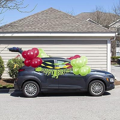 Dinosaur Birthday Parade Car Decorations Kit: Toys & Games [5Bkhe0406323]