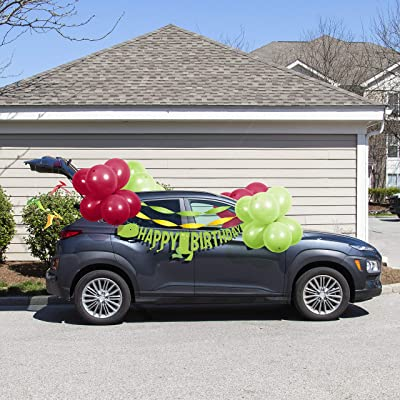 Dinosaur Birthday Parade Car Decorations Kit: Toys & Games