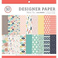 "ColorBok 73480A Designer Paper Pad Wild & Free, 12"" x 12"""