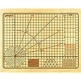 getDigital 11780tagliere legno Tagliere di alta precisione per cucina OCD, Legno, Legno di Faggio Chiaro, 31x 25x 2cm