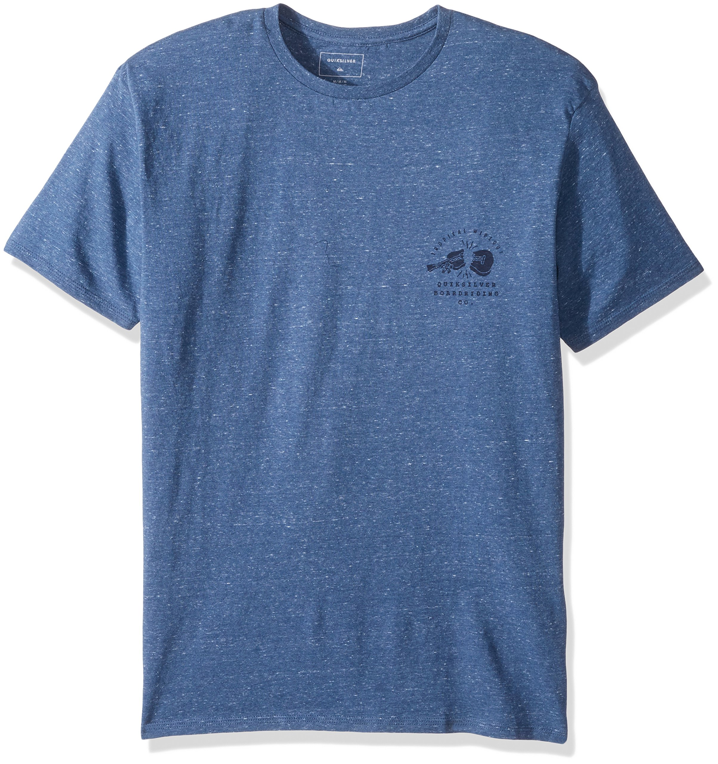 Quiksilver Men's Organic Long Lost Tee, Real Teal Heather, XL