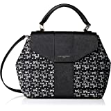 Karl Lagerfeld Paris Paris Top Handle Satchel, Black Combo
