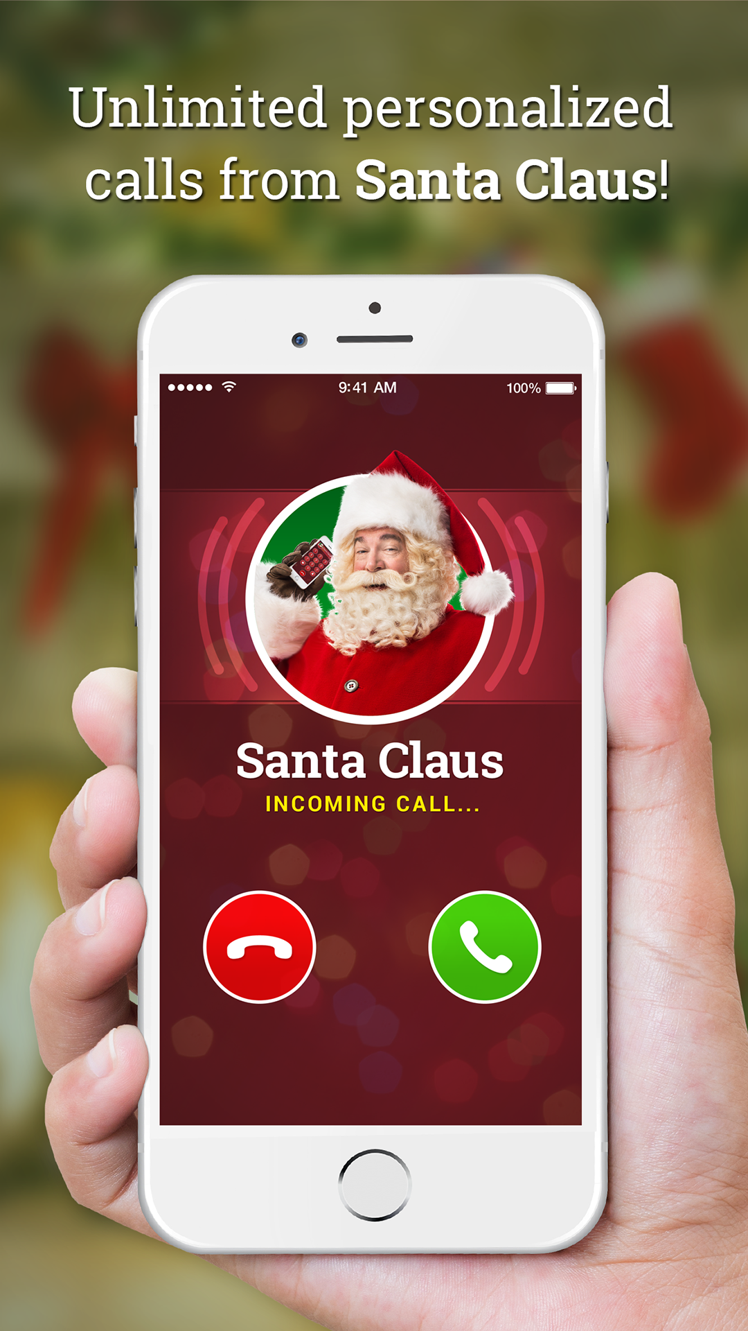how to get a phone call from santa