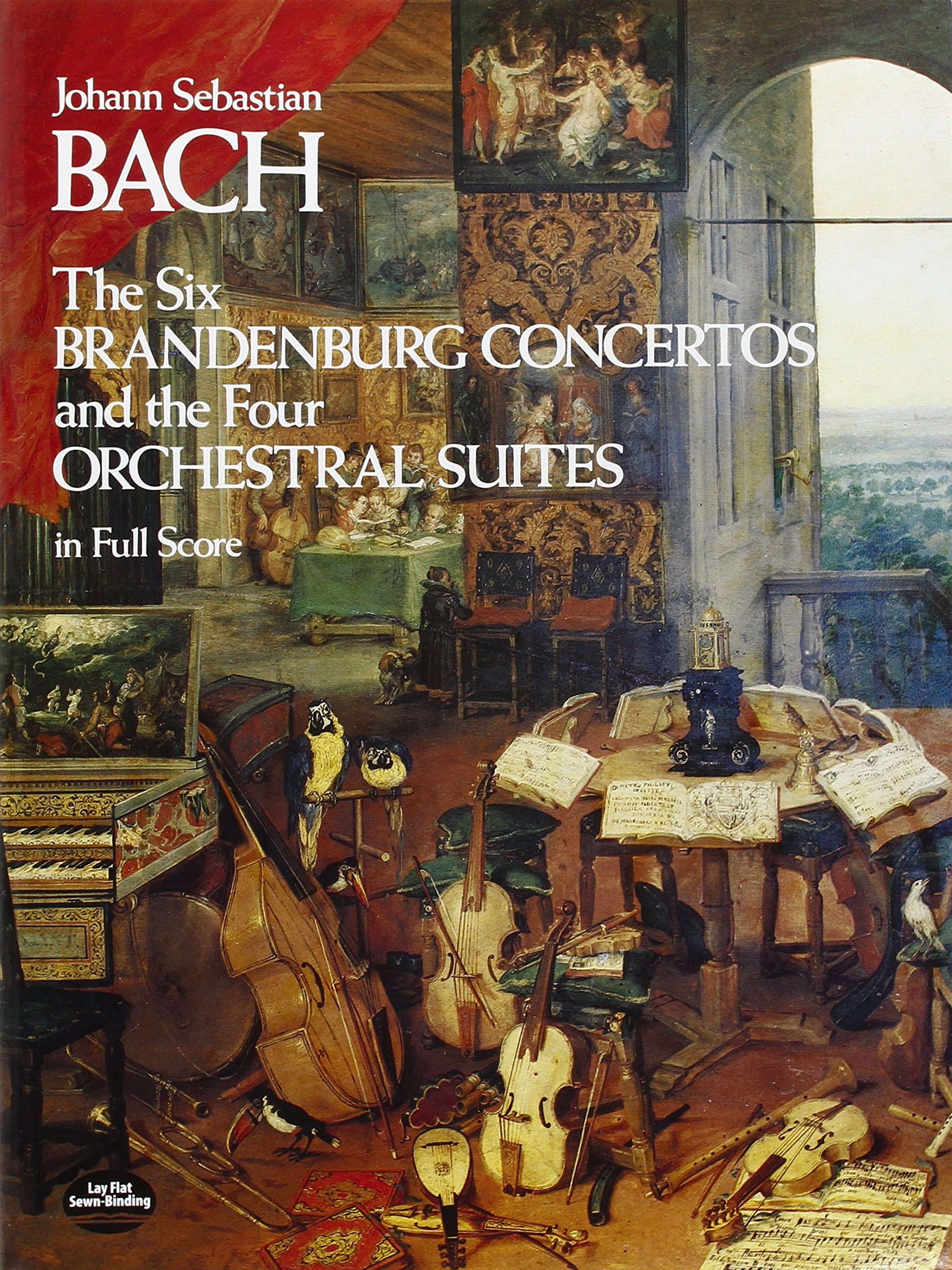 The Six Brandenburg Concertos and the Four Orchestral Suites in Full Score (Dover  Music Scores): Johann Sebastian Bach: 9780486233765: Amazon.com: Books