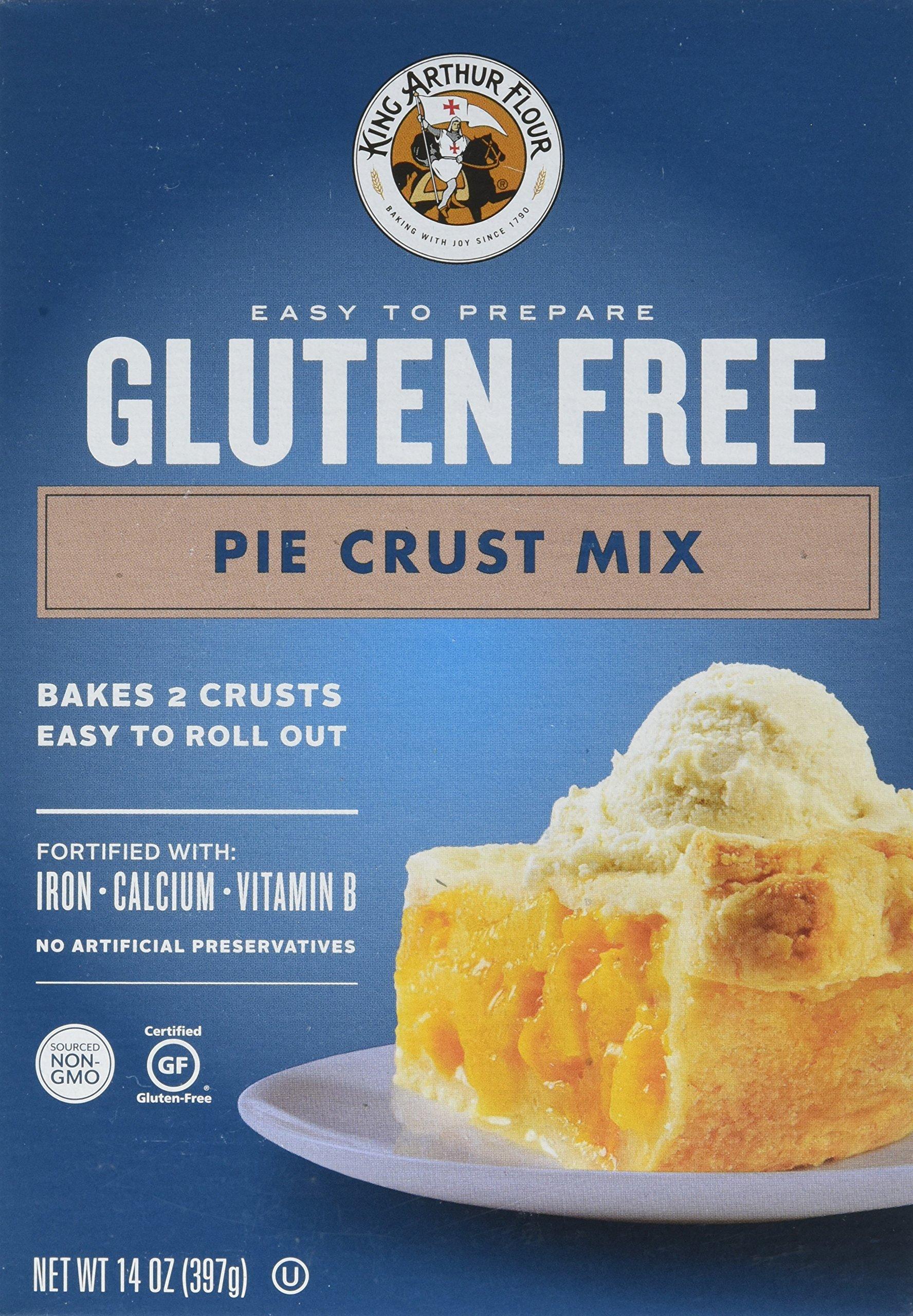 King Arthur Flour Gluten-Free Pie Crust Mix, 14 Ounce