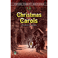 Christmas Carols: Complete Verses (Dover Thrift Editions) book cover