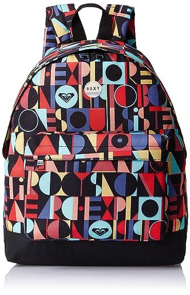 Roxy Be Young - Mochila con estampado integral para mujer, multicolor, talla única: Amazon.es: Zapatos y complementos