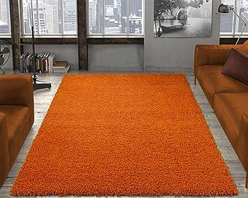 Ottomanson Soft Cozy Color Solid Shag Area Rug Contemporary Living And  Bedroom Soft Shag Area Rug