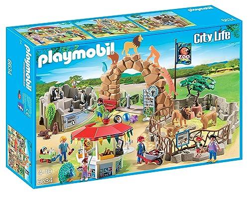 Playmobil 6634 City Life Large City Zoo with Many Animals