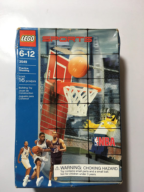 Amazon.com: LEGO Deportes nba Practice Shooting (3549): Toys ...