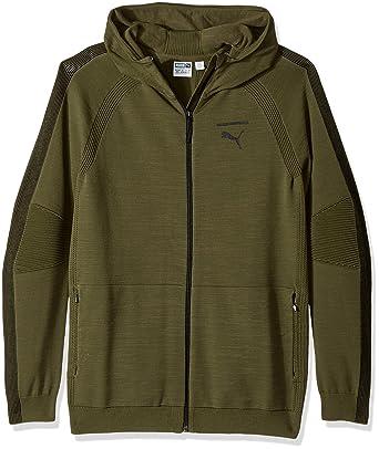 6b7852b97633e8 Amazon.com  PUMA Men s Evoknit Move Full Zip Hoodie  PUMA  Clothing