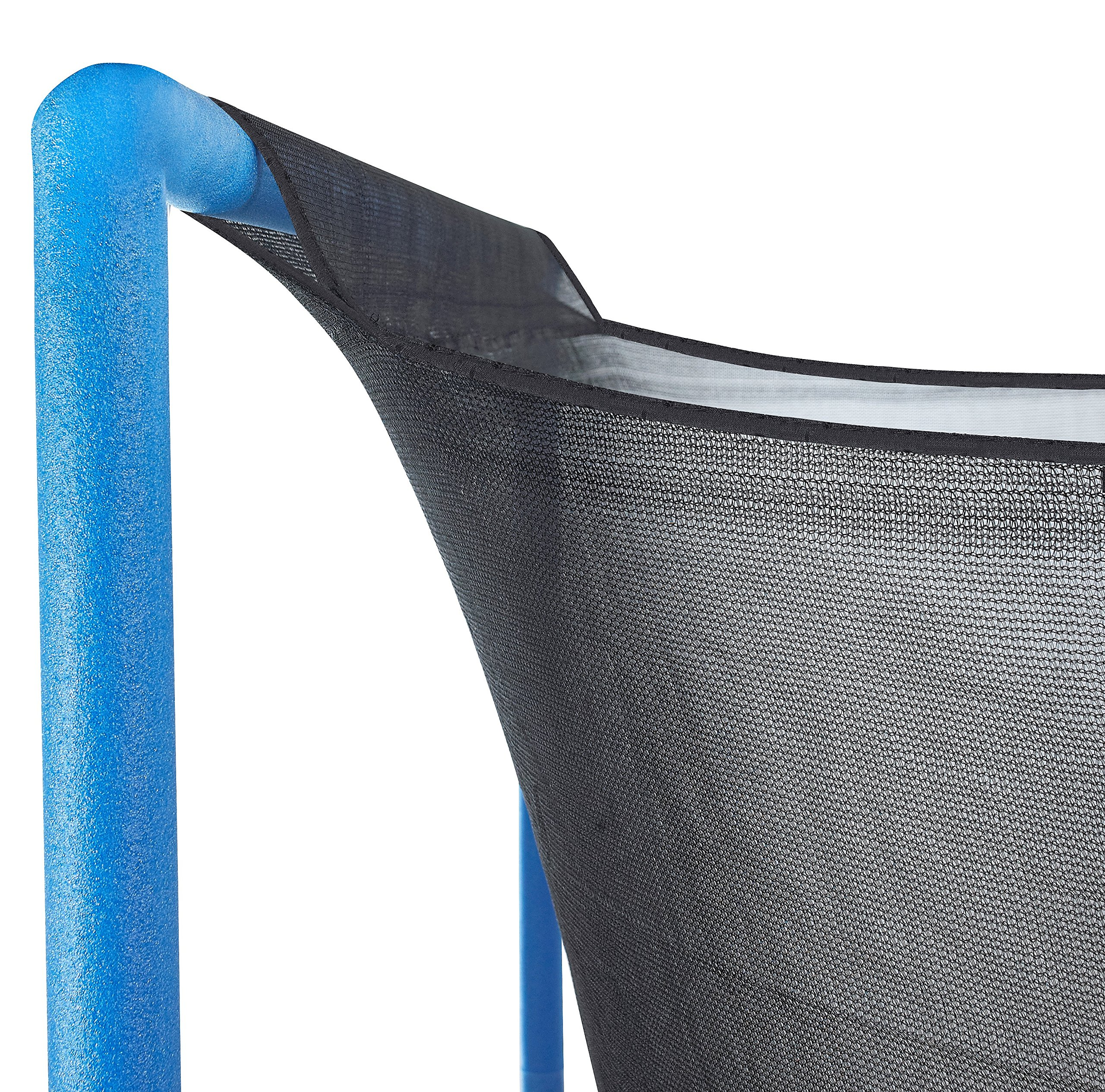 Upper Bounce Trampoline Enclosure Safety Net with Sleeves on top Fits for 15-Feet Round Frame Using 3 Arches (Poles Sold Separately) by Upper Bounce (Image #3)
