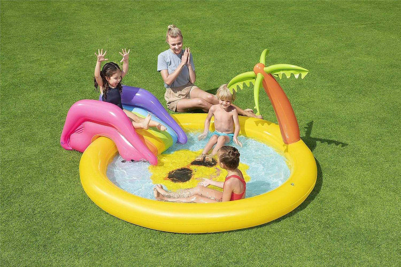 Sunnyland Bestway Kinderpool mit viel Platz zum Plantschen und Rutschen
