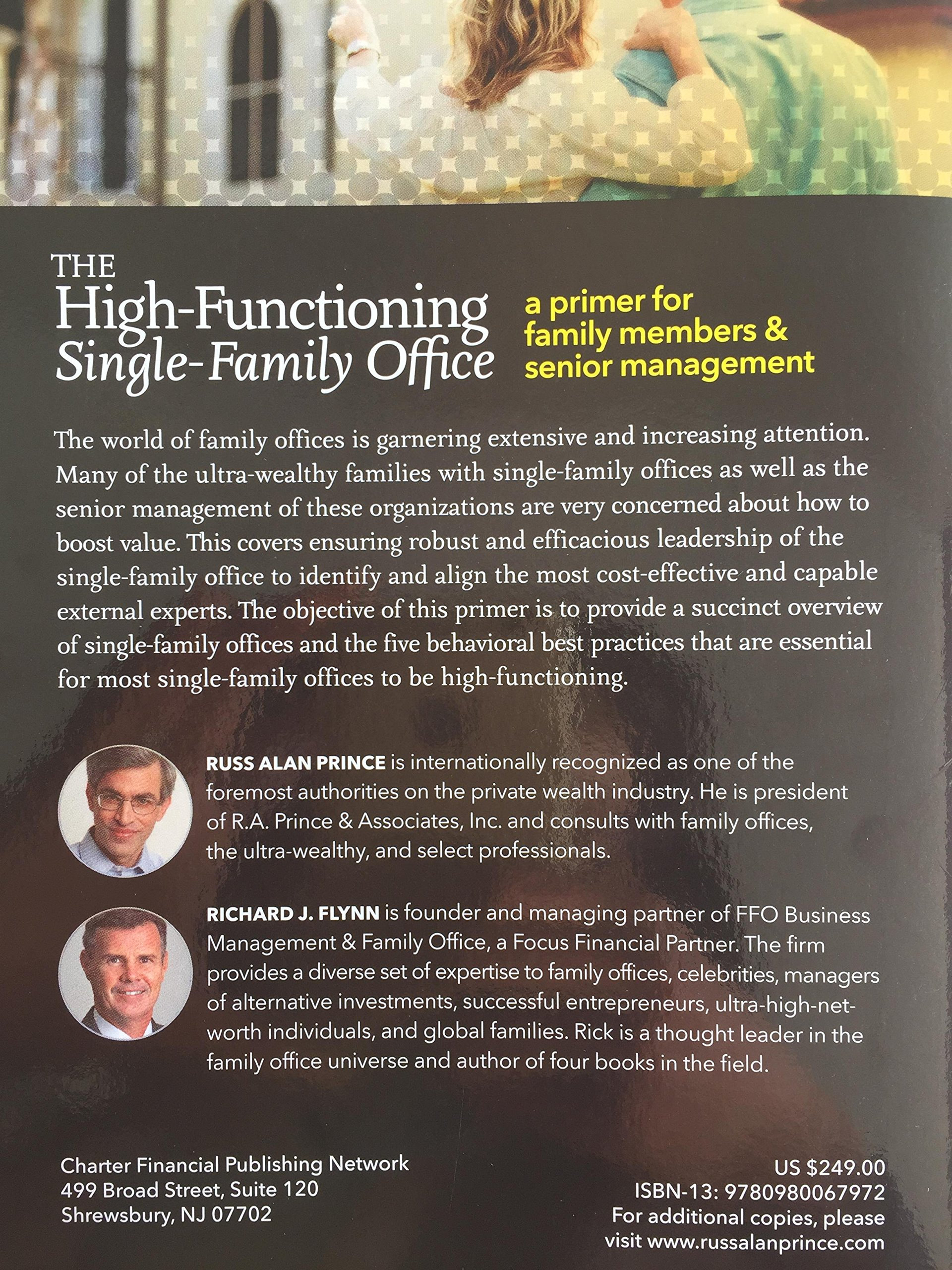 The High-Functioning Single-Family Office: Russ Alan Prince