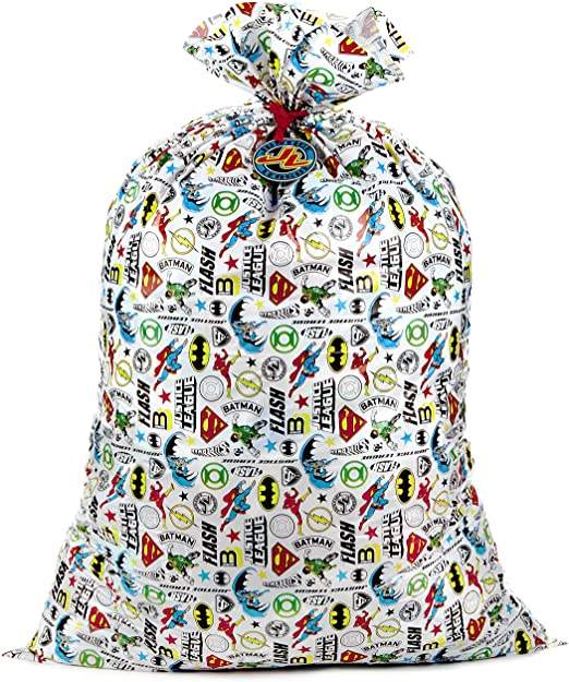 Parties Hallmark 56 Large Plastic Gift Bag for Birthdays Justice League or Any Occasion