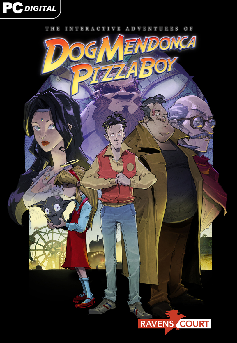 The interactive Adventures Dog Mendonça  Pizzaboy [Online Game Code]