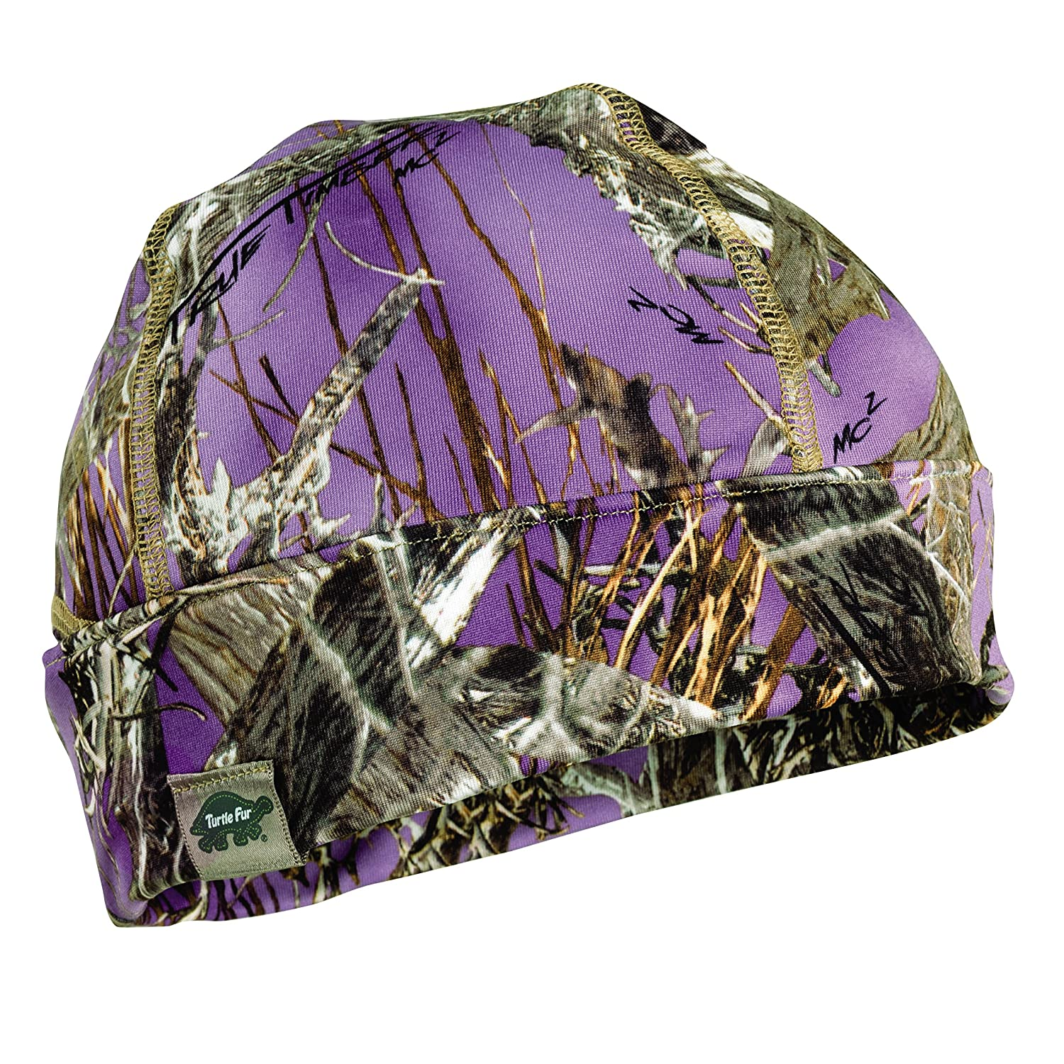 e8ed125f1c92f Amazon.com   Turtle Fur Hunting Ponytail Conquest Lightweight Camo Ponytail  Beanie Mossy Oak Break-Up Country   Sports   Outdoors