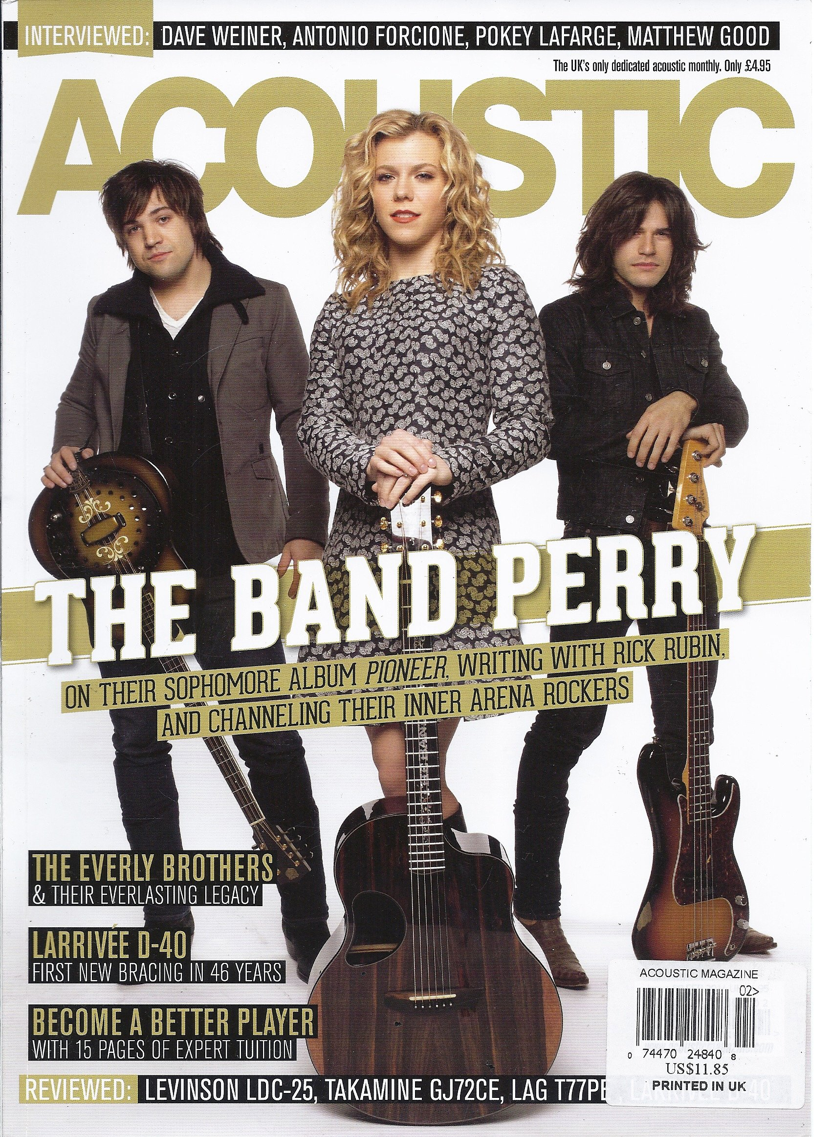 Download Acoustic (February 2014 - Issue 88) pdf