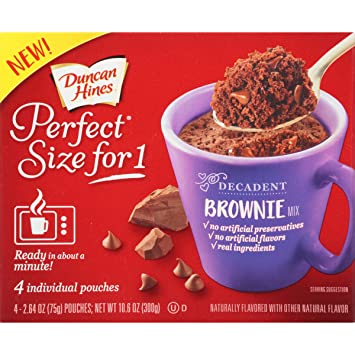 Mug Cake Using Brownie Mix