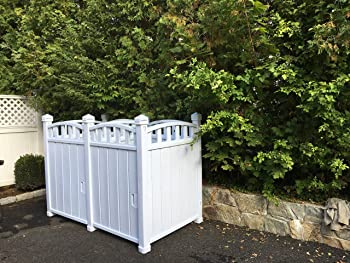 Trash Can Screen Enclosure