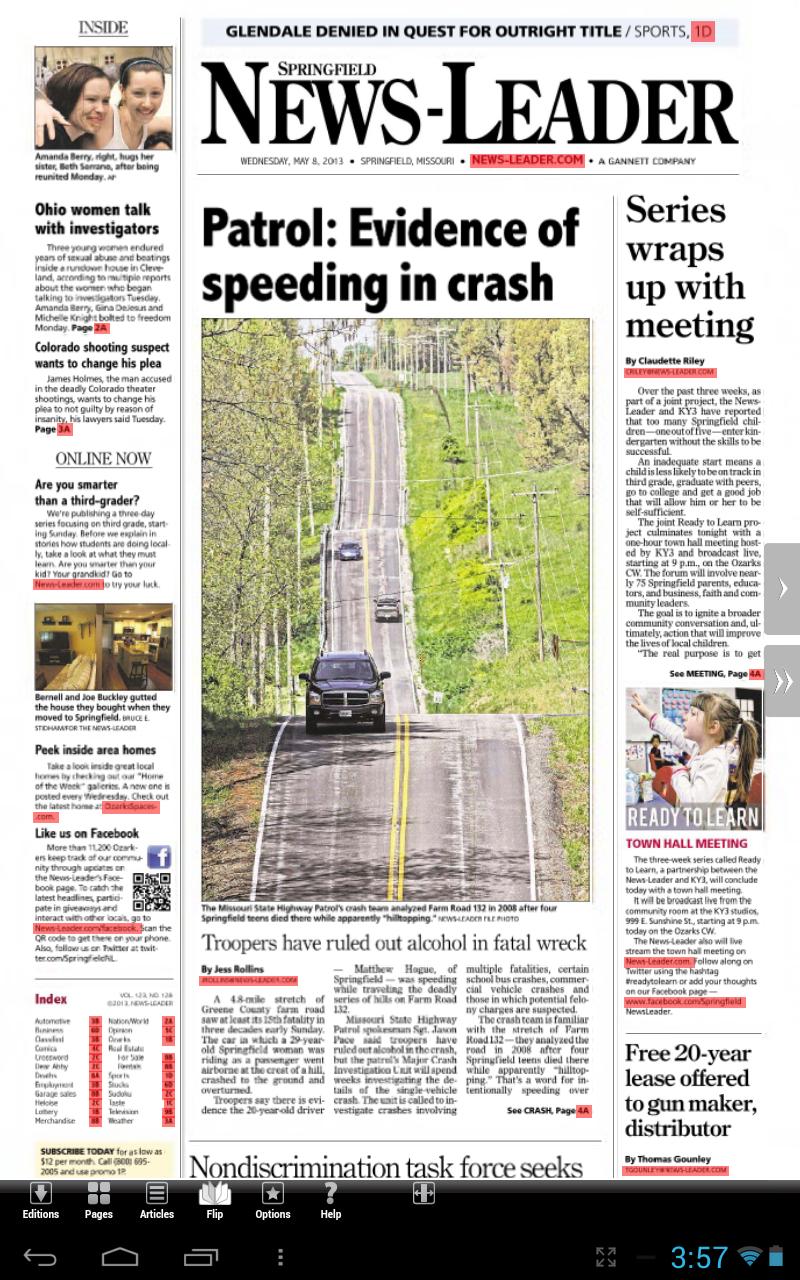 Springfield News-Leader Print Edition