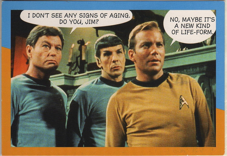Amazon com: Star Trek Dr  McCoy, Mister Spock and Captain Kirk Humor