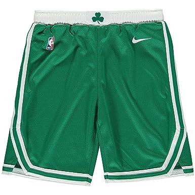 27b84cf5b2c Nike NBA Boston Celtics Kyrie Irving Gordon Hayward Jayson Tatum 2017 2018  Icon Edition Short Official