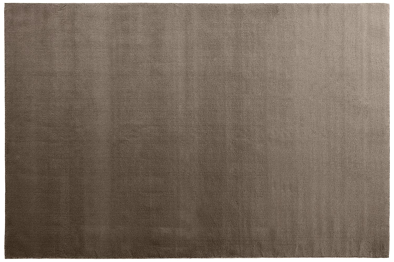 オーダーラグ ソフトカットパイル ブラウン 幅145cm 長さ230cm アレルブロック 防ダニ B01J1CJDI2 145 センチメートル,230 センチメートル