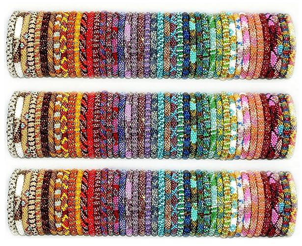 Amazoncom Wholesale Nepal Roll On Bracelets Lot Of 20 50 Or 100