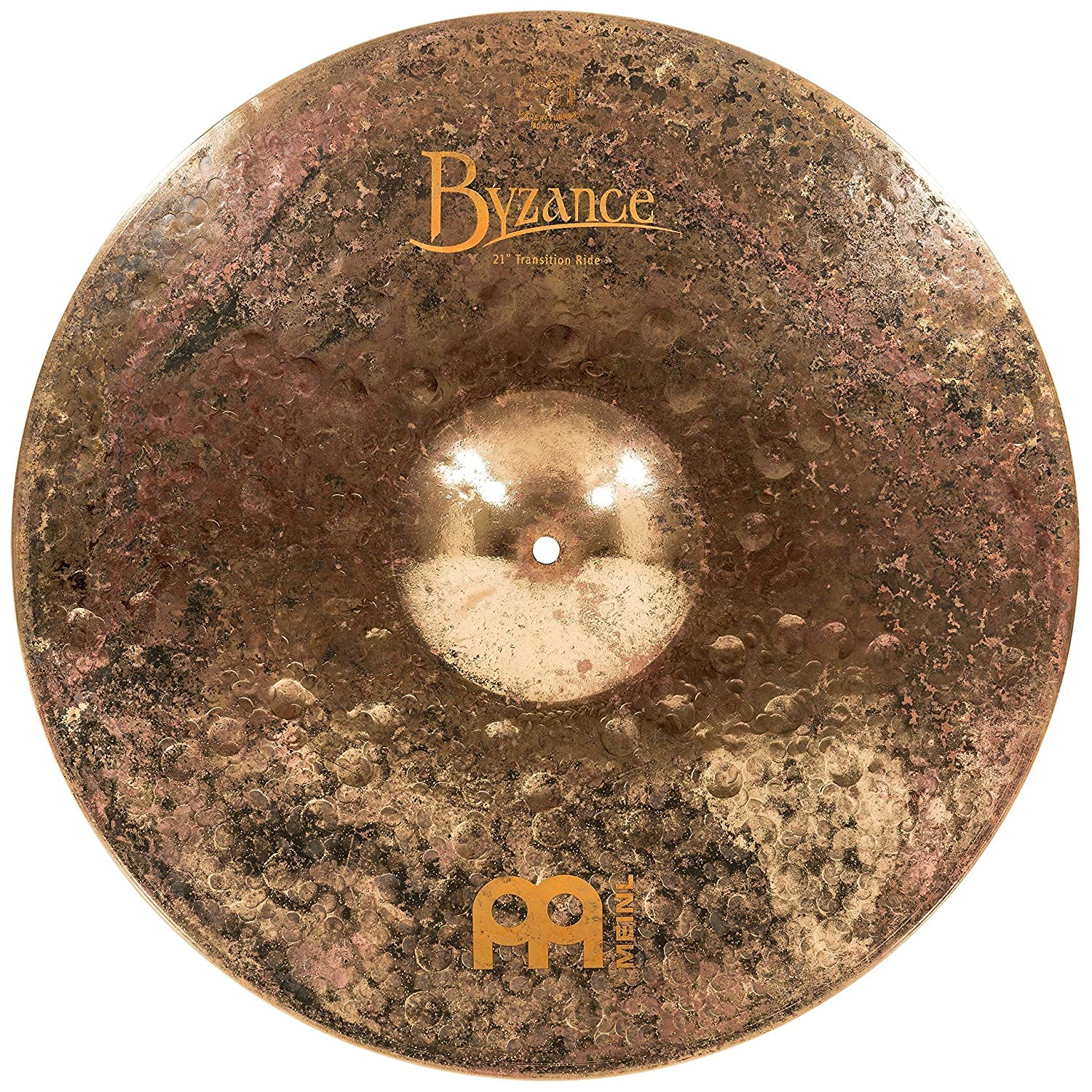 Meinl Cymbals B21TSR Byzance 21-Inch Mike Johnston Signature Transition Ride Cymbal (VIDEO) Meinl USA L.C.