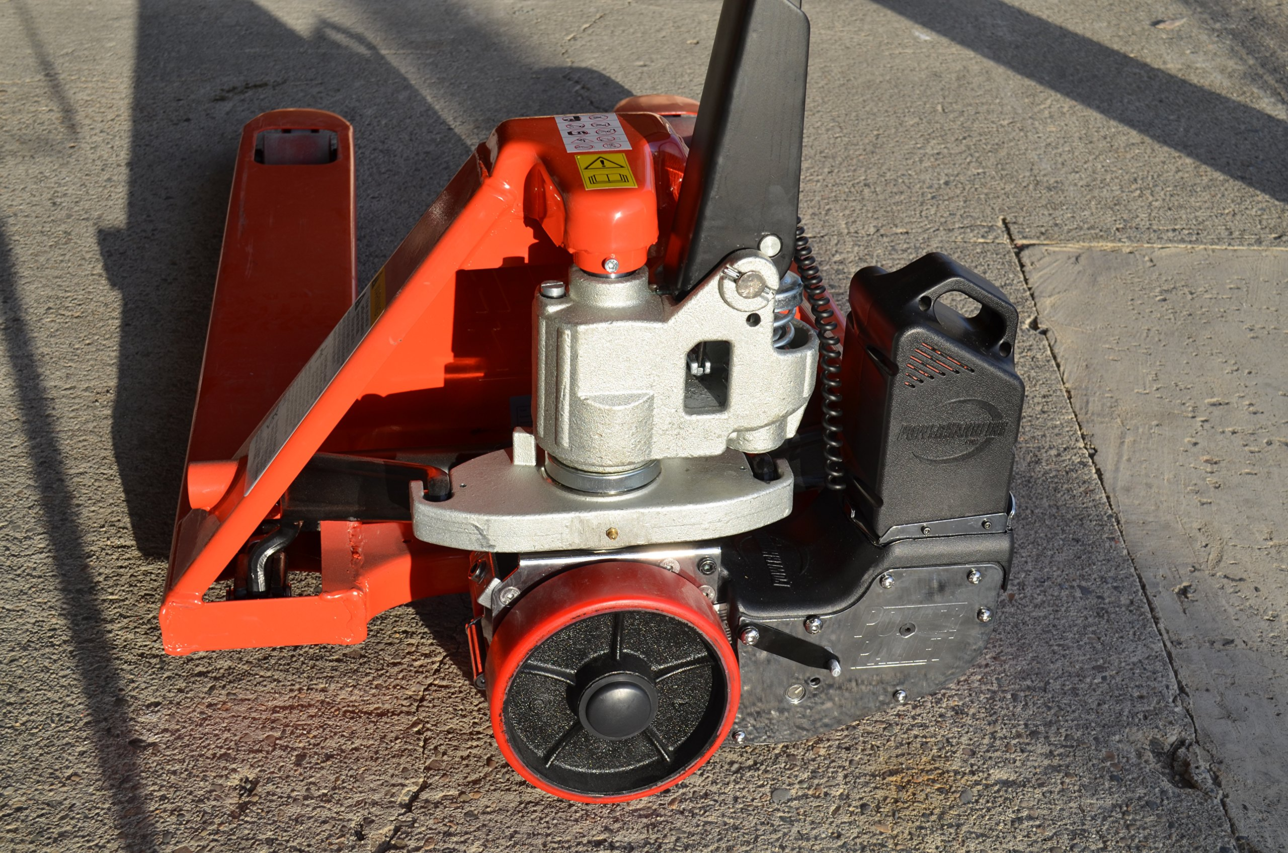 PowerPallet 2000 Mounted Kit: 3,500 pound rated 27'' x 48'' electric pallet jack by PowerPallet (Image #5)