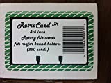 Retrocard™ 3x5 Rotary File Refill Cards