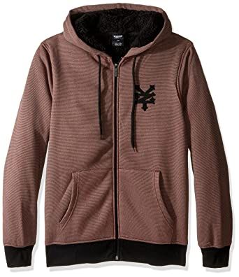 Amazon.com  Zoo York Men s Long Sleeve Sherpa Hoodie Zip-up Sweatshirt   Clothing 087d09c32c94